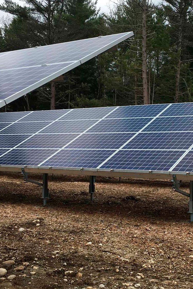 Solar Ground Mount PV array